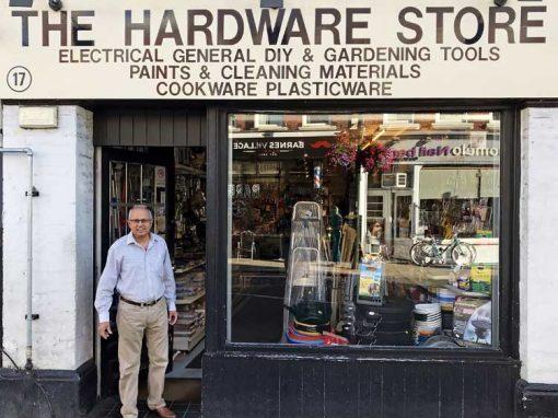 Barnes Hardware Shop